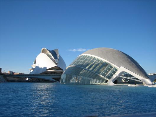Ciudad de las Artes y la Ciencia / Valencia, España. Image © Vía Flickr, Usuario Visentico