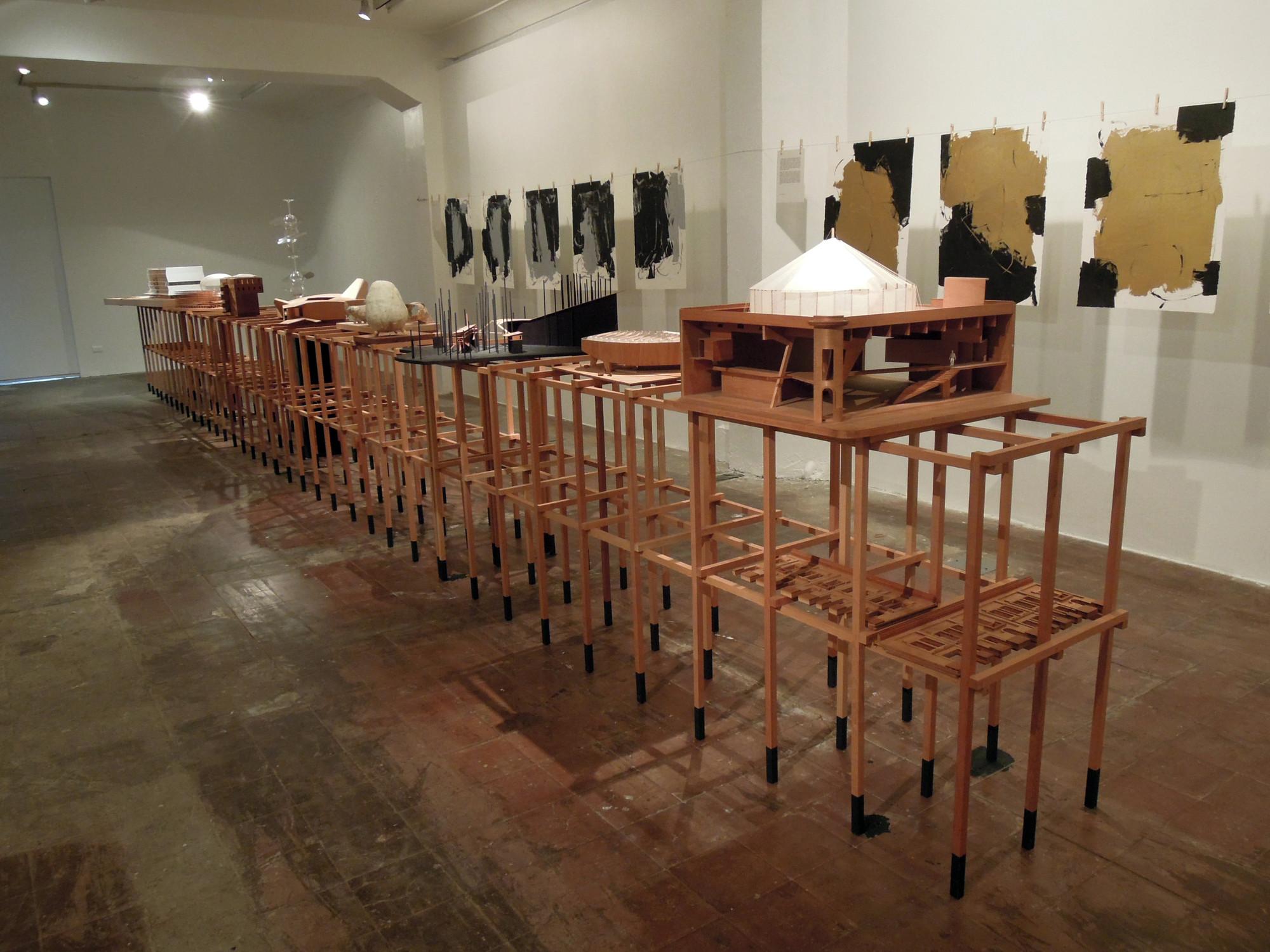 """Exposición """"Ilustraciones"""" de Smiljan Radic + Alejandro Lüer , Courtesy of Javiera González Zarzar"""