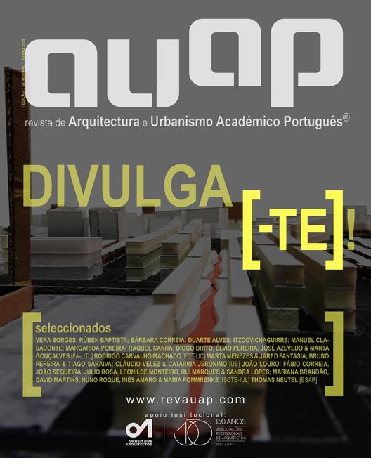 Capa da 1ª Edição da RAUAP®. Image Courtesy of RAUAP