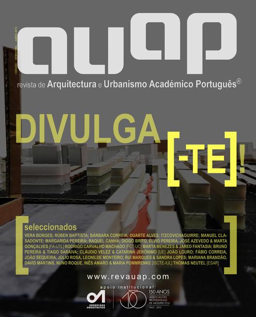 RAUAP - Revista de Arquitectura e Urbanismo Académico Português, Capa da 1ª Edição da RAUAP®. Image Cortesia de RAUAP