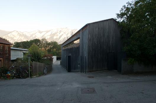 Zumthor Studio. Image Courtesy of Felipe Camus