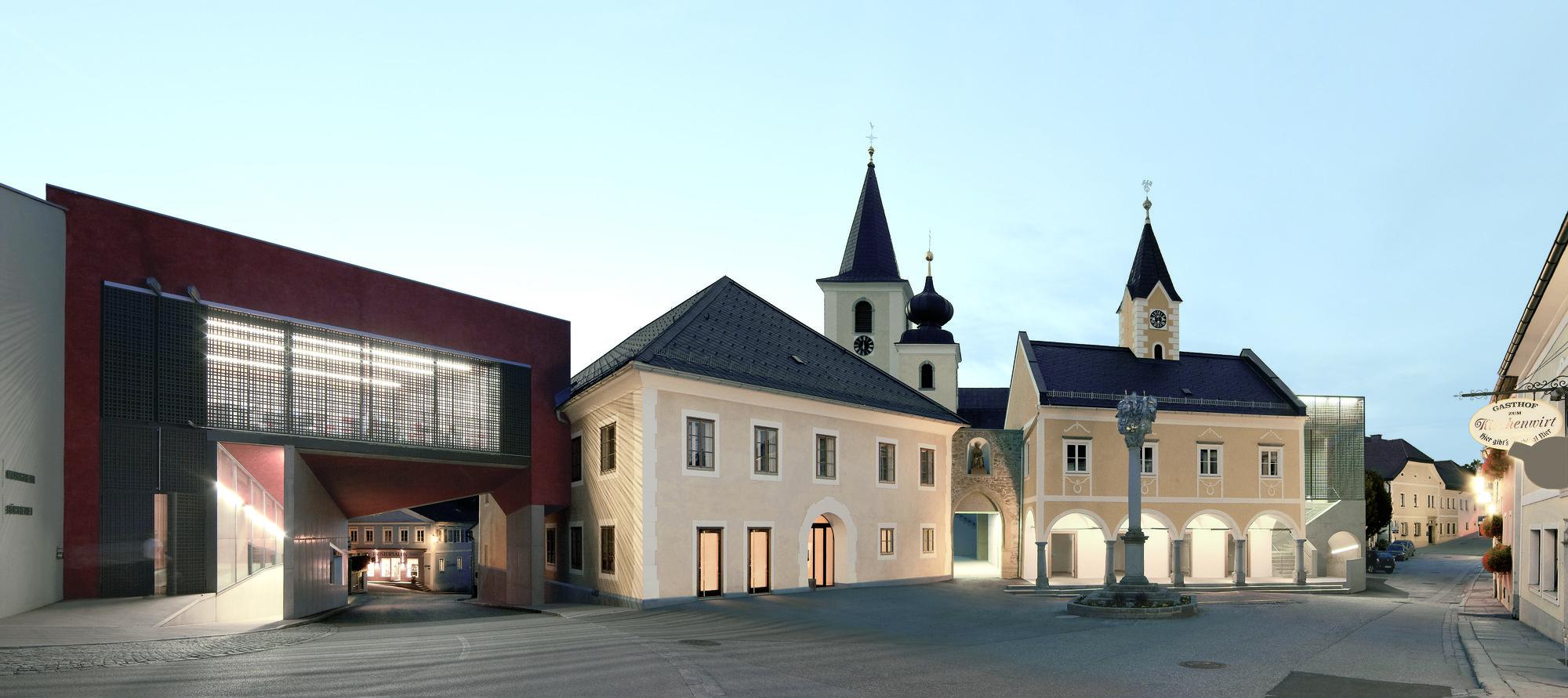 Town Centre Sarleinsbach / Heidl Architekten, © Josef Andraschko
