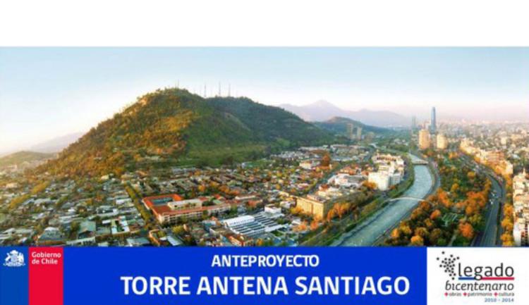 Chamada para Concurso Público Internacional - Torre Antena Santiago