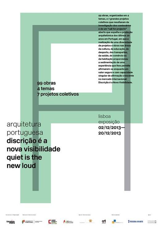 """Exposição itinerante """"Arquitetura Portuguesa. Discrição é a nova visibilidade"""", Cortesia de OASRS"""