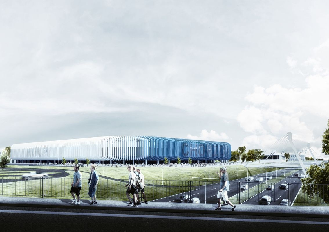 GMT Mysłowice Win Competition to Design Poland's Stadion Ruch Chorzów
