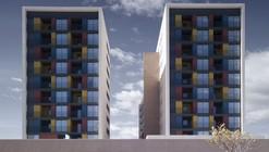 Building for 163 Dwellings / ADI Arquitectura