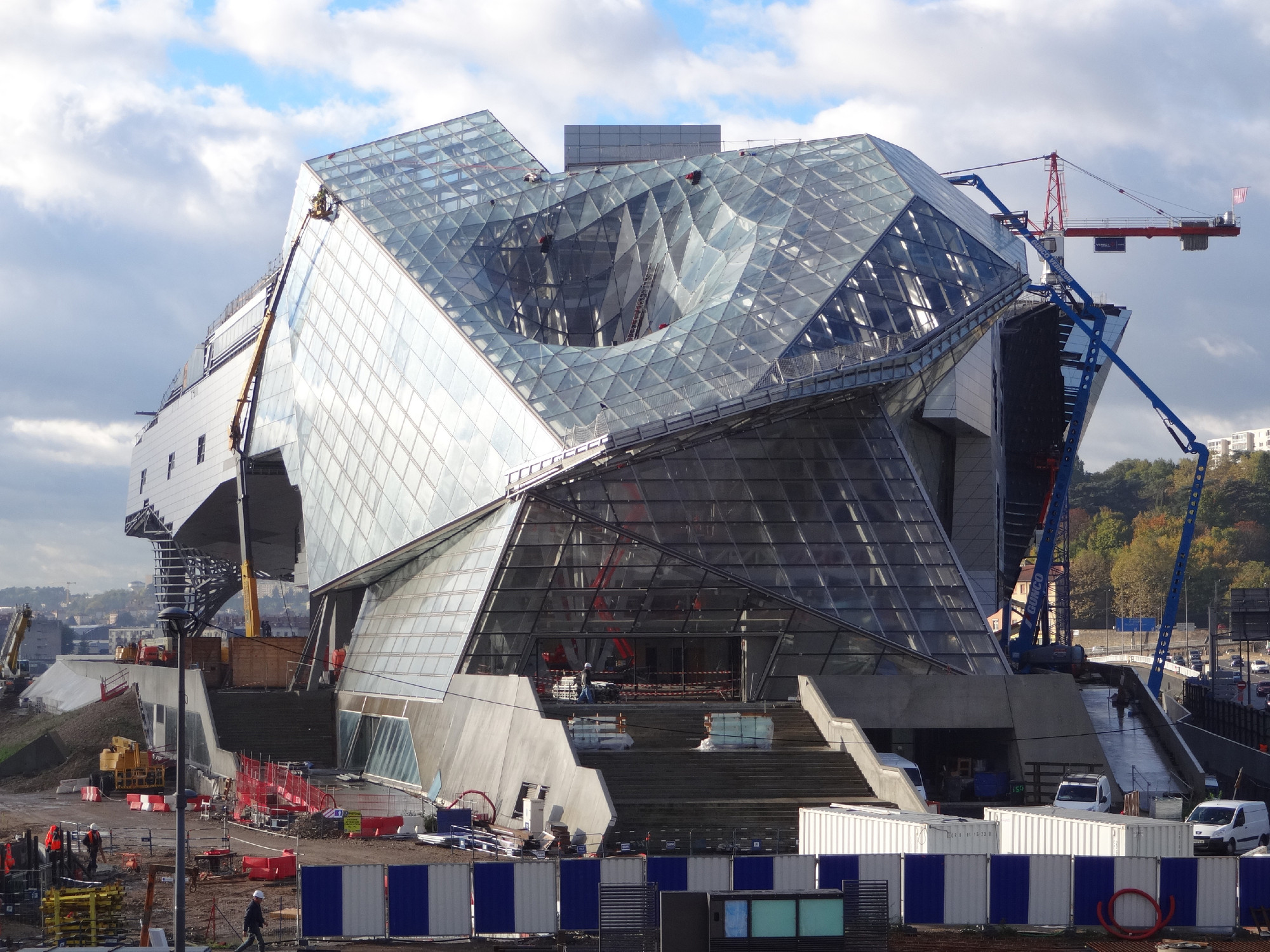 In Progress: Musée des Confluences / COOP HIMMELB(L)AU , Courtesy of COOP HIMMELB(L)AU