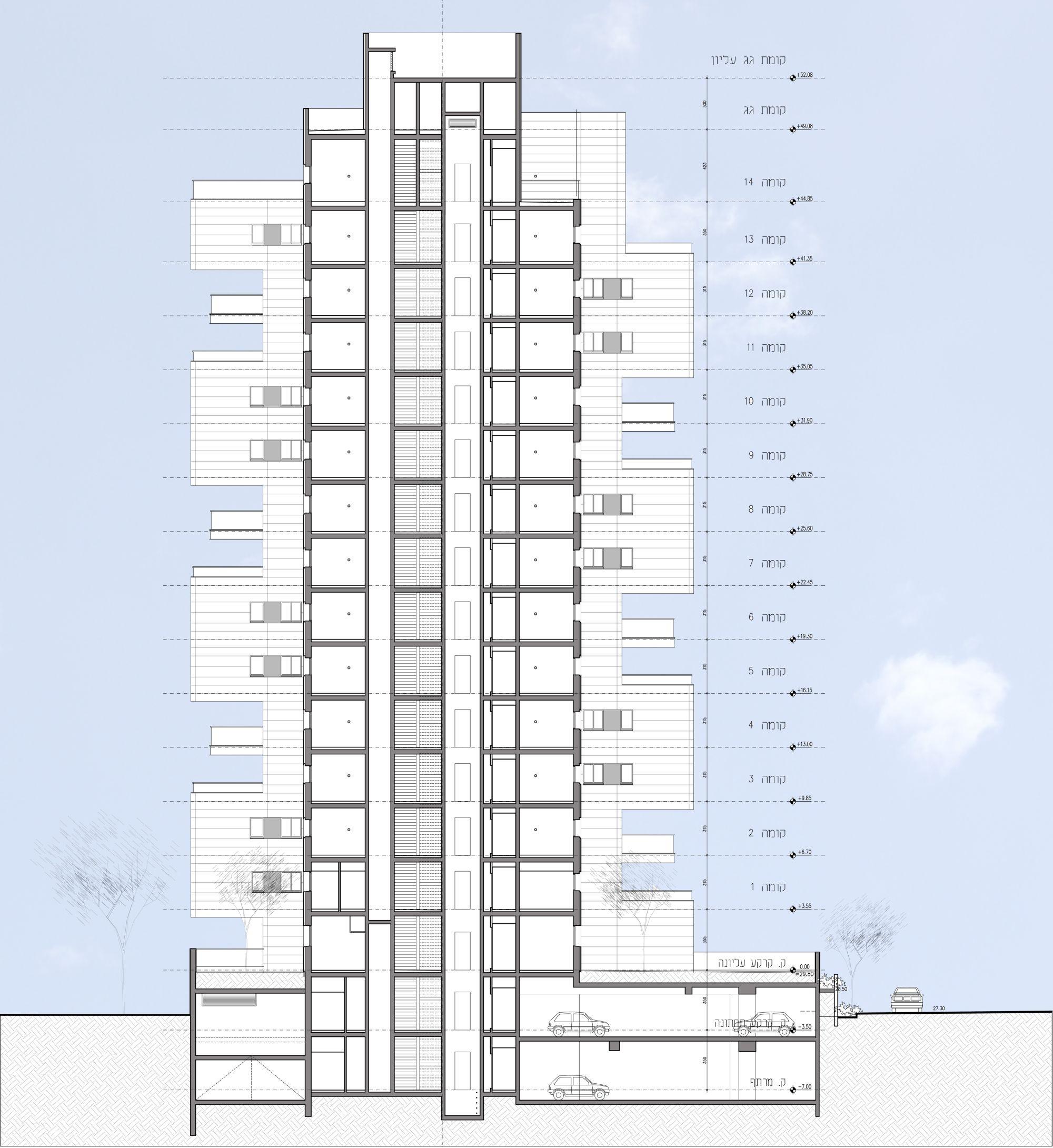 Z design building ami shinar amir mann archdaily for Design a building
