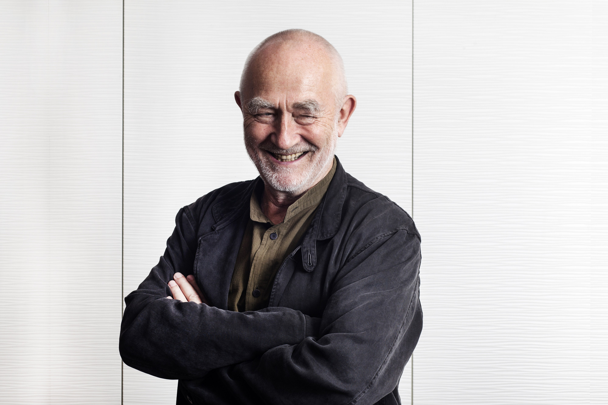 Peter Zumthor: Seven Personal Observations on Presence In Architecture , Zumthor in Tel Aviv. Image © Yael Engelhart for Ha'aretz