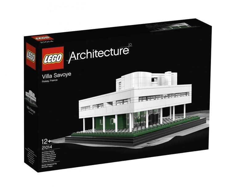 LEGO® Architecture Series agora no Brasil, LEGO® Architecture Series - Villa Savoye. Image © LEGO®
