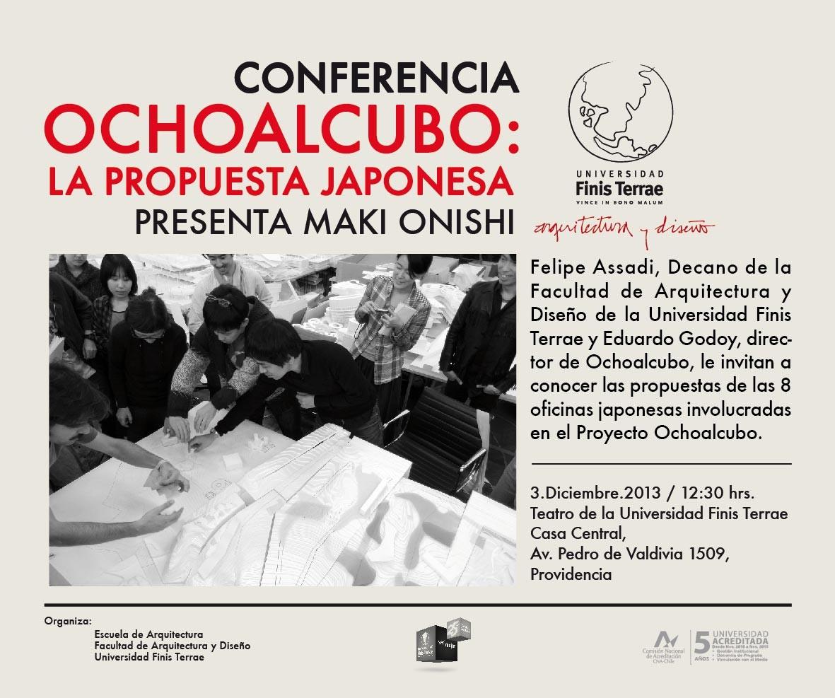 Conferencia: Ochoalcubo, la propuesta japonesa , Courtesy of UFT