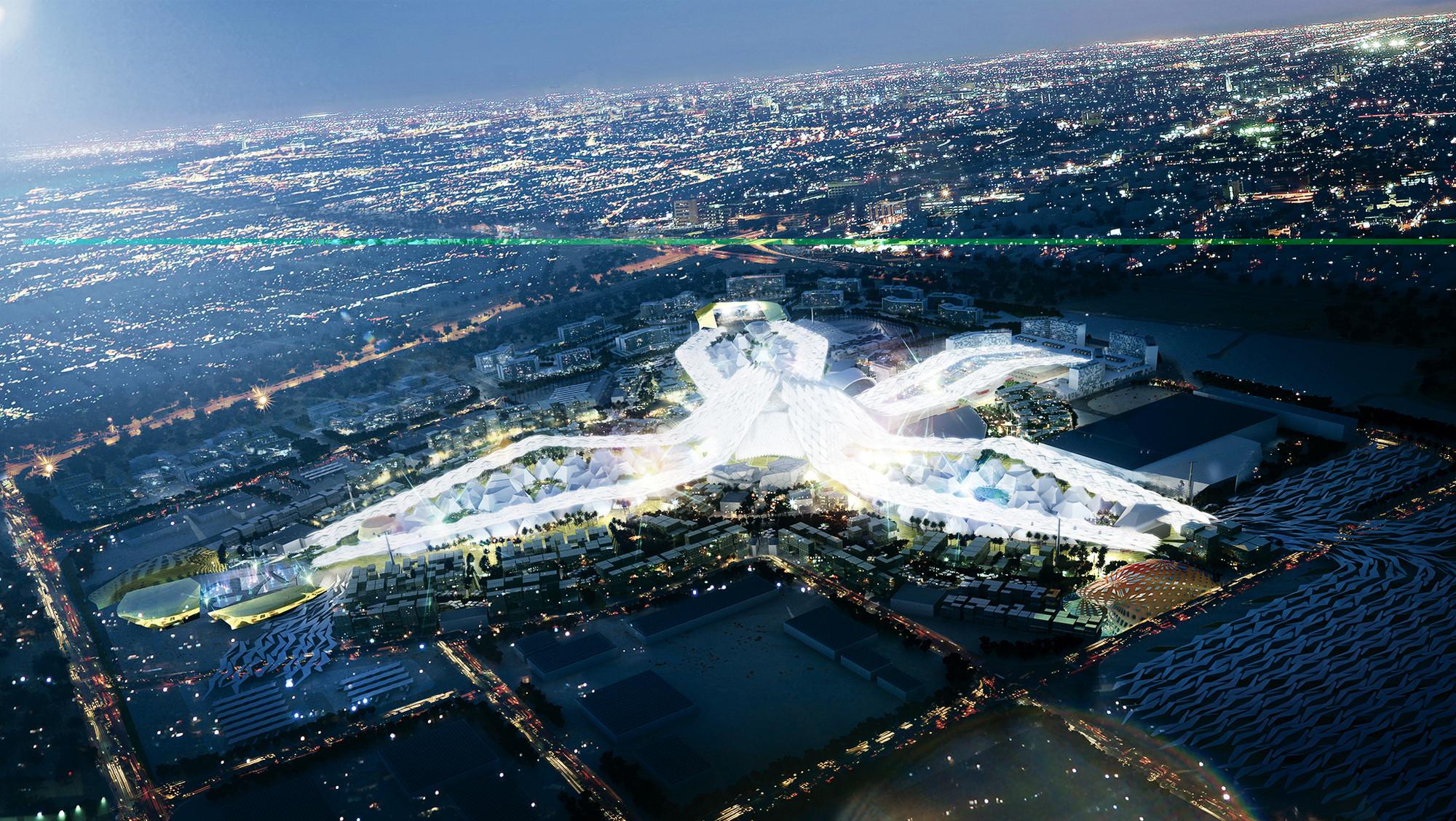 Se revela el Plan Maestro para la Exposición Universal Dubai 2020, © Vía DubaiGoldPrices.com