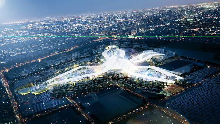 Revelado o masterplan para a Exposição Universal Dubai 2020, © Vía DubaiGoldPrices.com