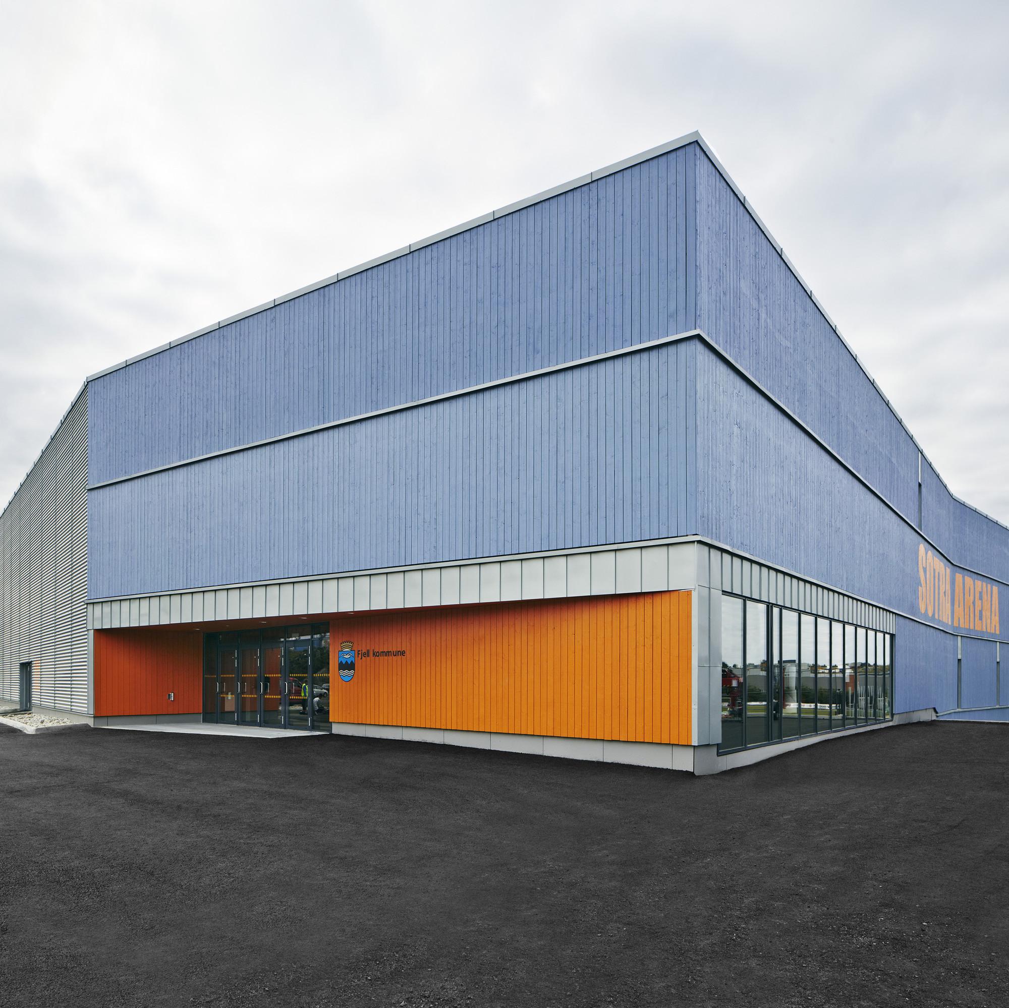 Sotra Arena / Longva Arkitekter, © Ivan Brodey