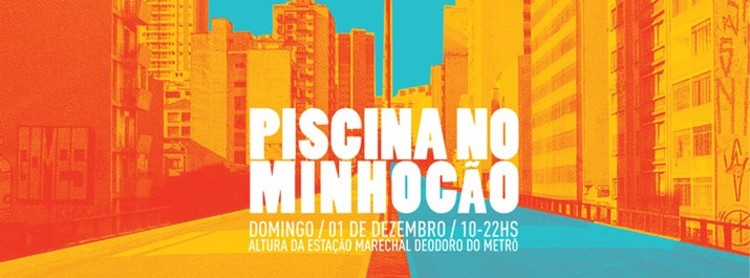 Piscina no Minhocão, Courtesy of X Bienal de Arquitetura de São Paulo