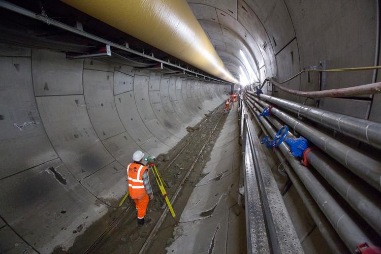 Túneis sob Londres: o maior projeto de infraestrutura da Europa, Crossrail western tunnels, December 2012. Image © Crossrail