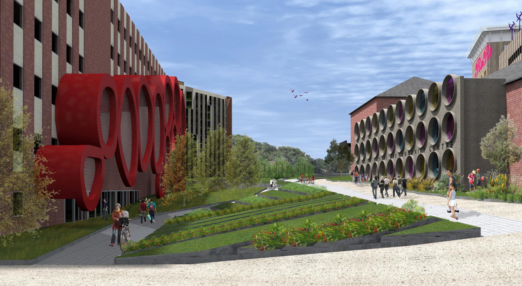 SLASH with Phillips/Pilkington Architects Win the Royal Adelaide Hospital Competition, SLASH. Image Courtesy of ODASA