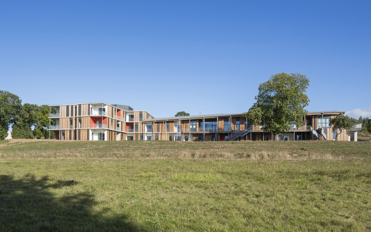 Vivienda para Mayores Concoret  / Nomade Architects, © Luc Boegly