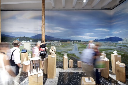 Reconstructing Space, Reconstructing Community in Japan, The Japan Pavilion at the Venice Biennale showed some of the disaster reconstruction work. . Image © Nico Saieh