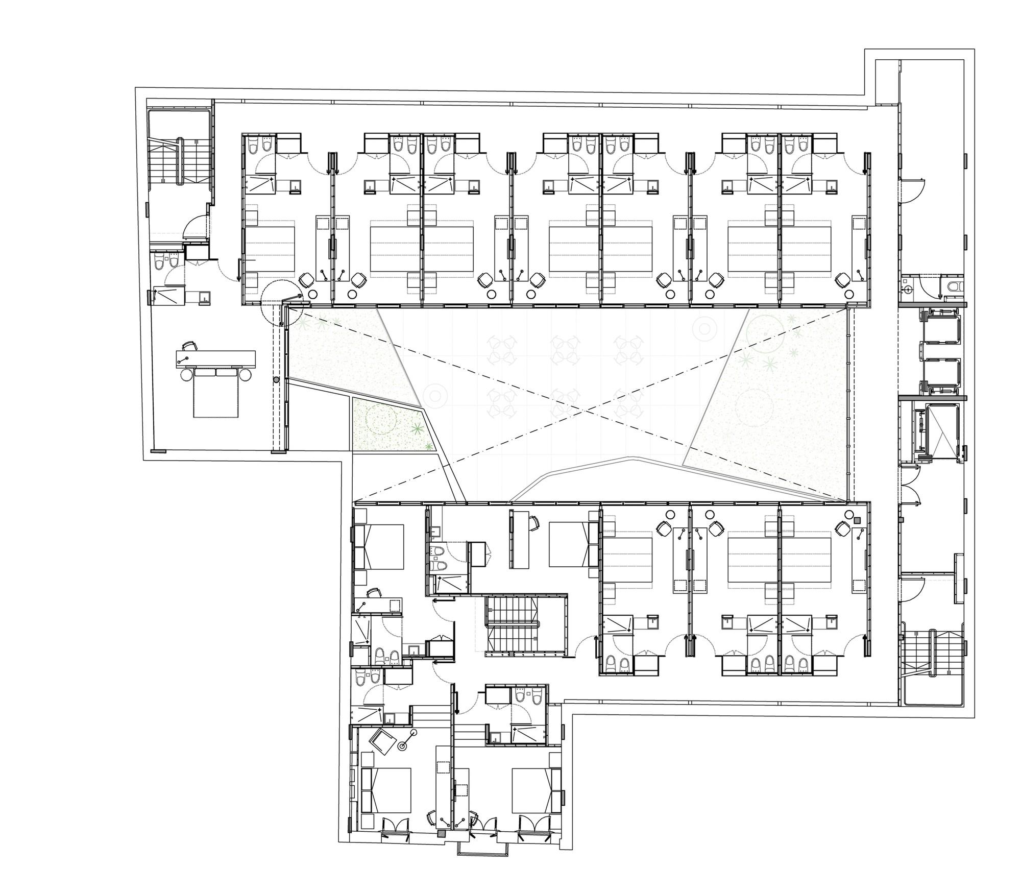 Gallery of hotel me san telmo estudio rietti smud 13 for Plan estudios arquitectura
