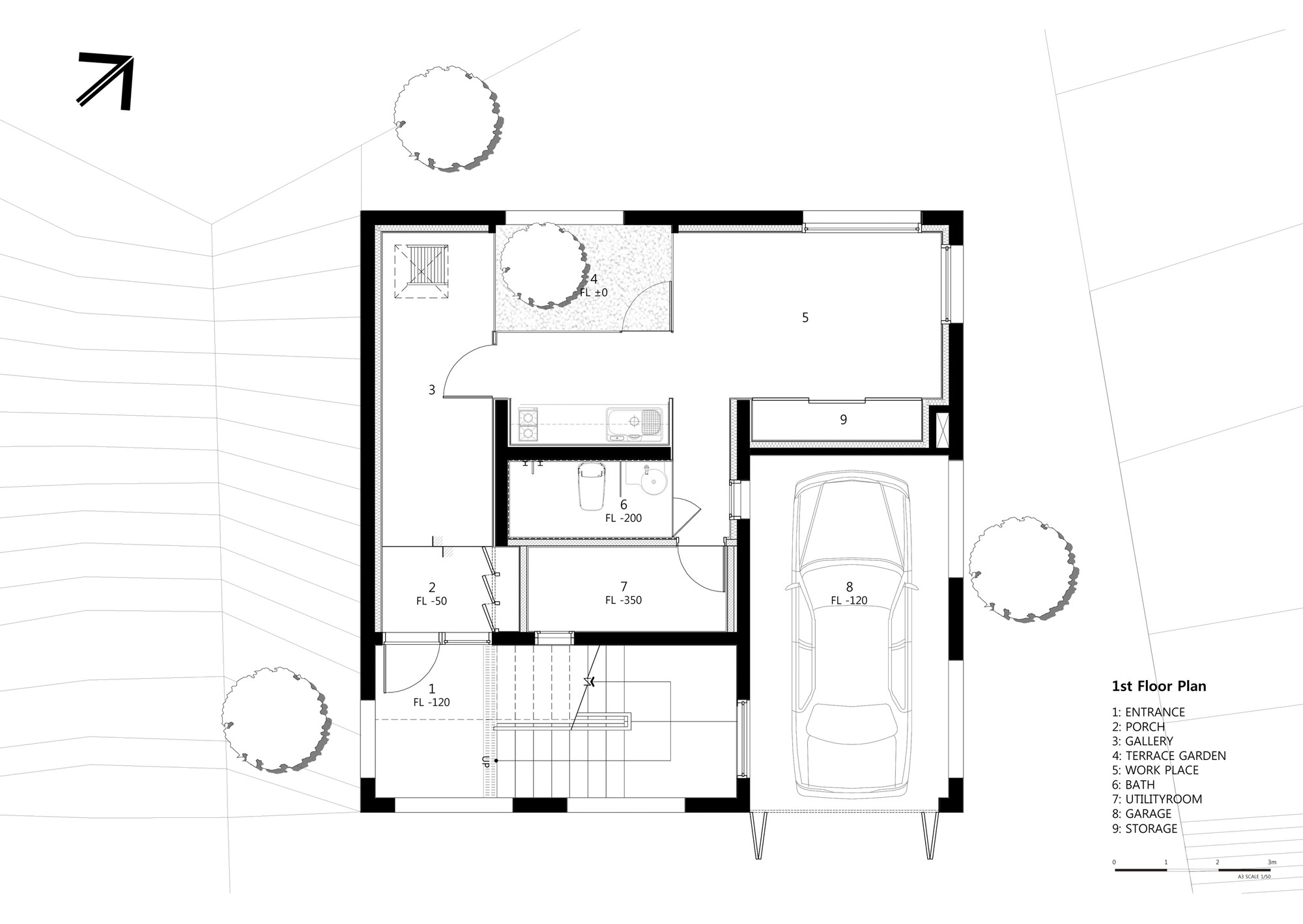 Gallery Of 9x9 Experimental House Younghanchung