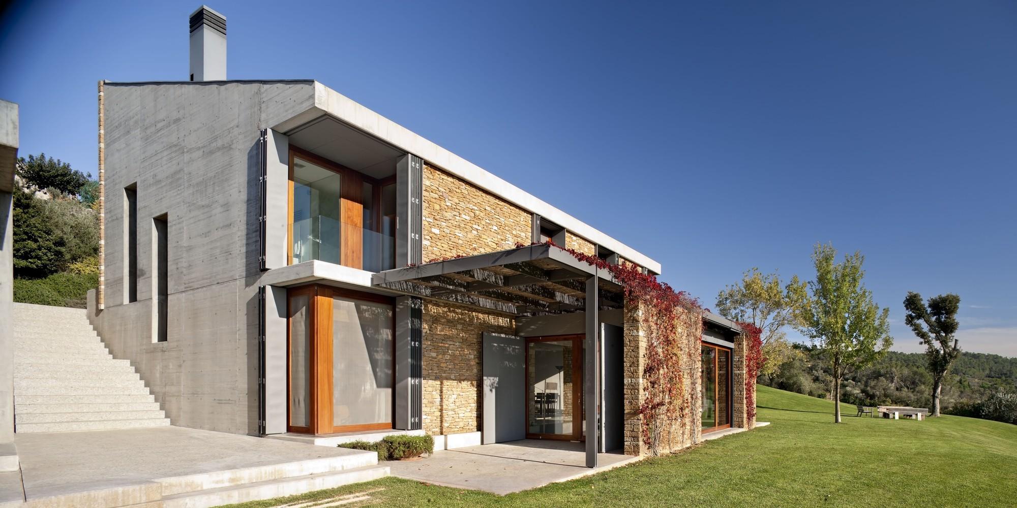 House Ampudrán / b720 Fermín Vázquez Arquitectos, © Adriá Goula