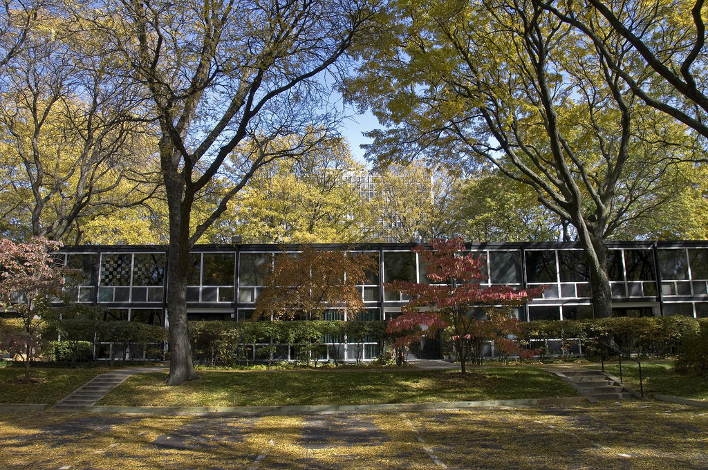 Ad Classics Lafayette Park Mies Van Der Rohe Archdaily