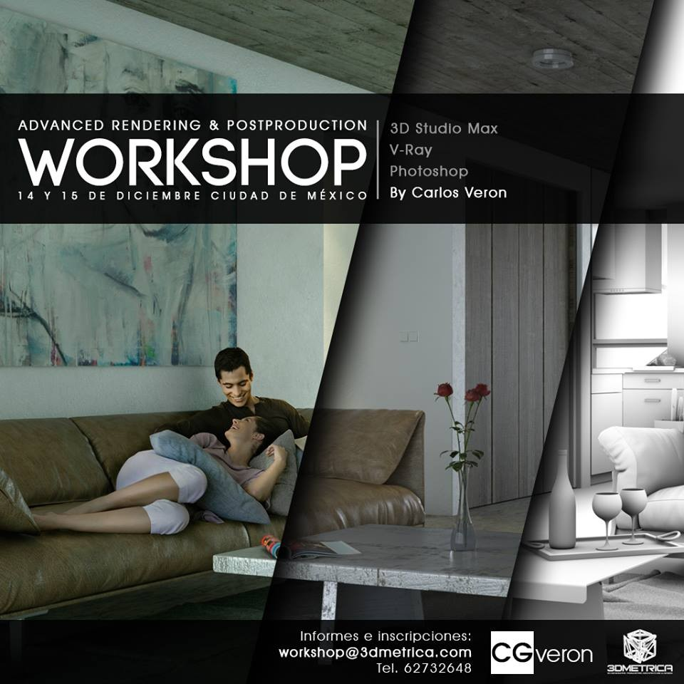 Advanced Rendering & Postproduction Workshop / 3DMetrica