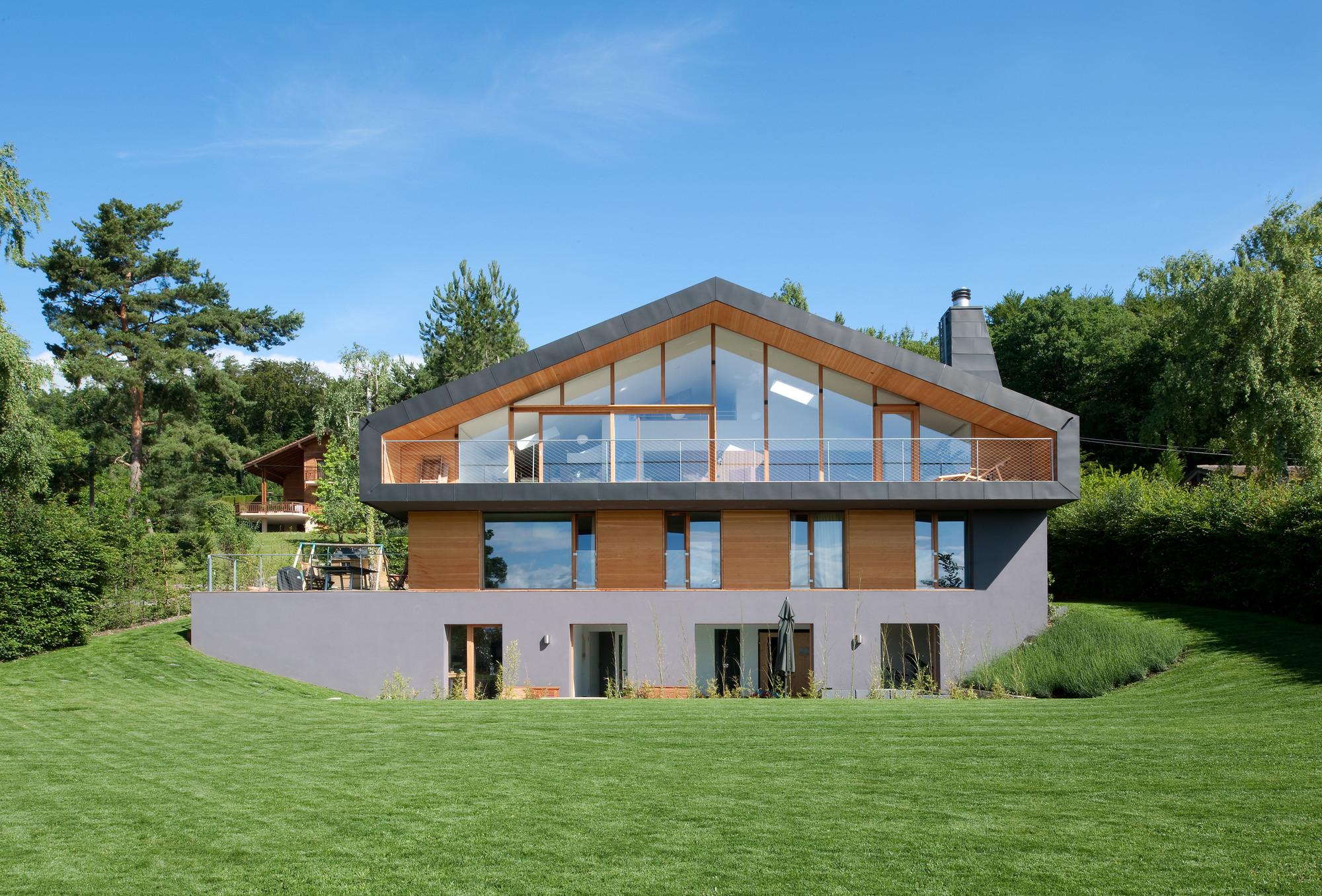 Красивые дома - дома, в которых хочется жить. Фото