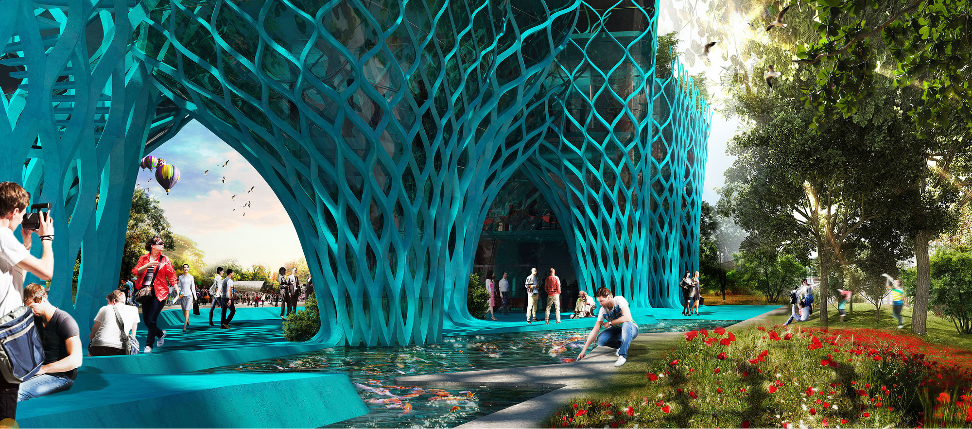 Competition Entry: Iran Pavilion (Expo Milan 2015) / New Wave Architecture, Courtesy of New Wave Architecture