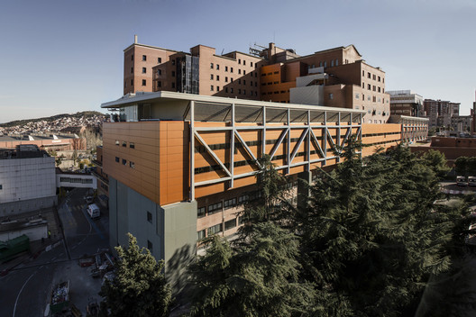 Vall D Hebron Hospital Estudi Psp Arquitectura Archdaily