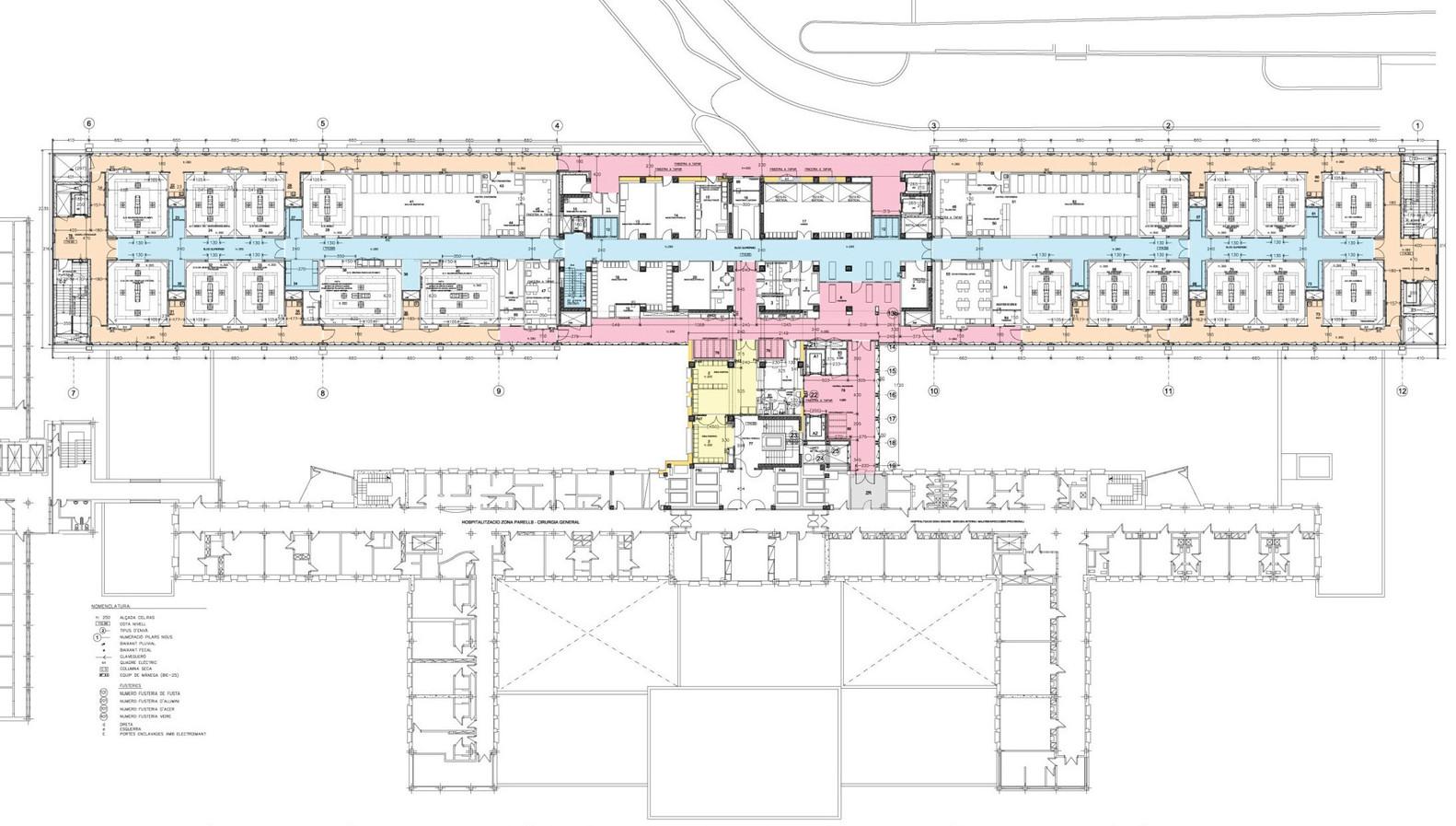Galería de Hospital de la Vall d\'Hebron / Estudi PSP Arquitectura - 10