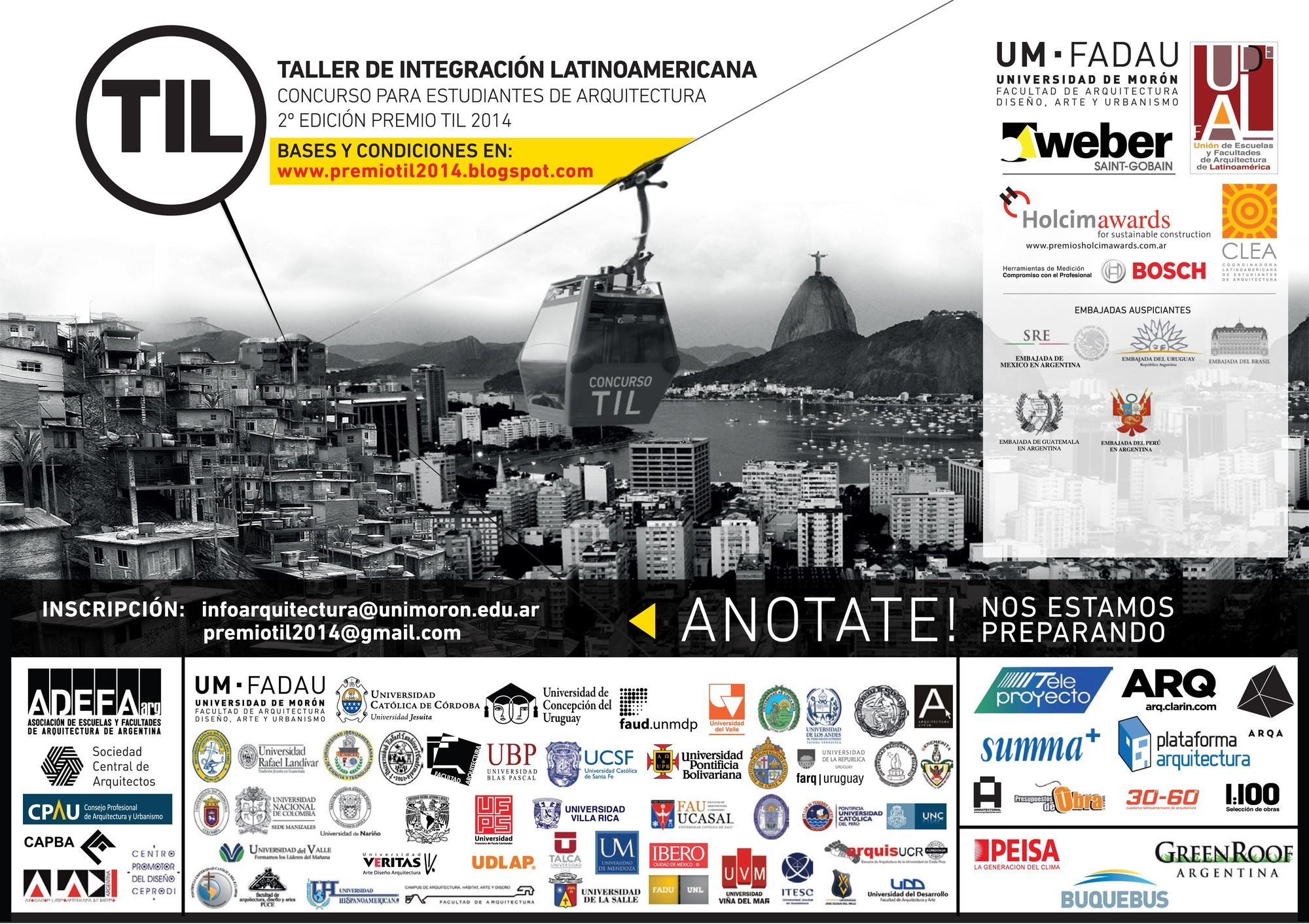 Faltan pocos días para el cierre del Concurso Premio TIL 2014