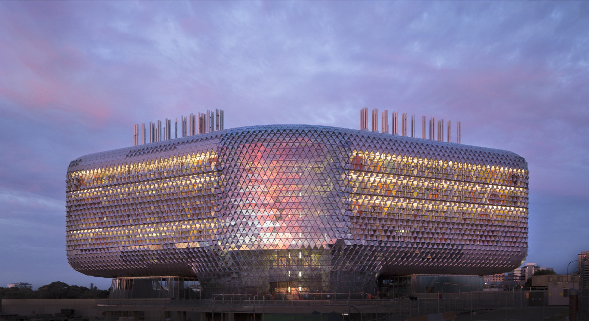 In Progress: SAHMRI / Woods Bagot / Woods Bagot, © Peter Barnes