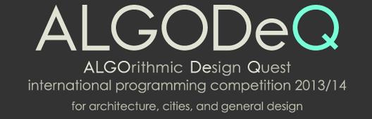 ALGODeQ: ALGOrithmic Design Quest Competition