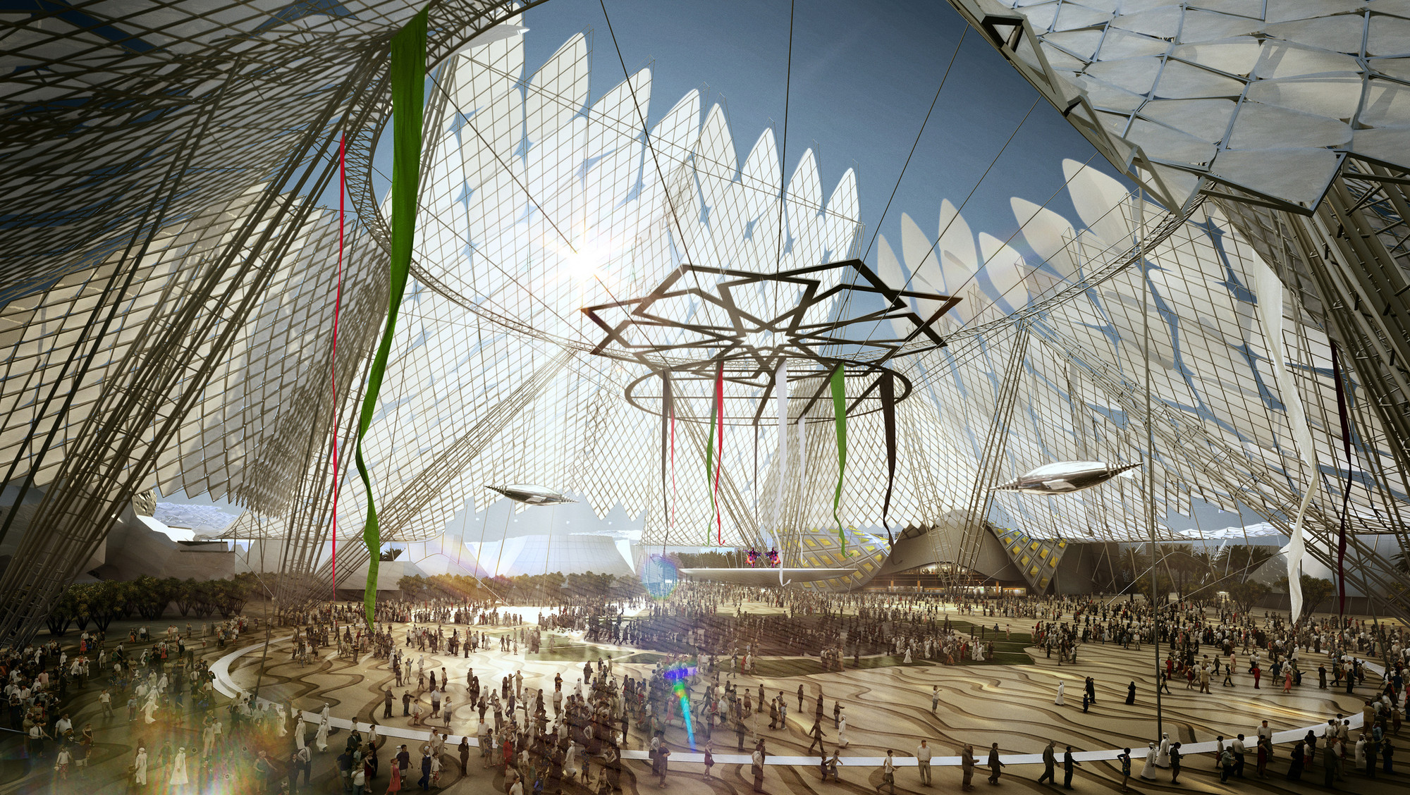 Expo 2020 Stands For : Gallery of dubai wins world expo bid with hok