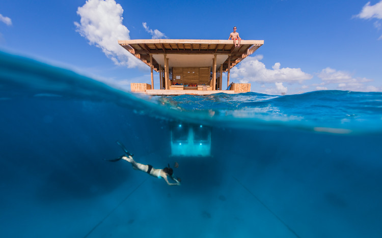 The Manta Underwater Room / Genberg Underwater Hotels, © Jesper Anhede