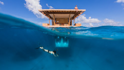 The Manta Underwater Room / Genberg Underwater Hotels