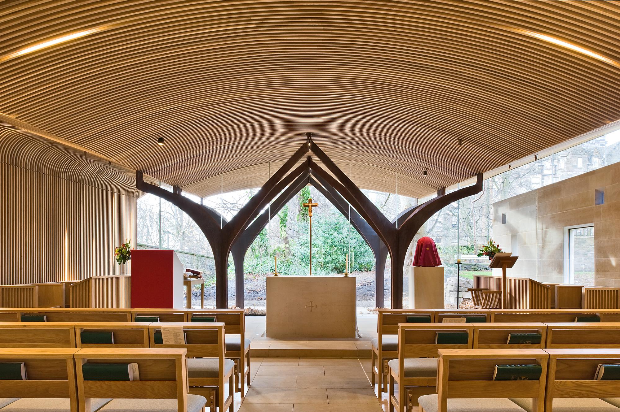 gallery of chapel of st albert the great    simpson  u0026 brown