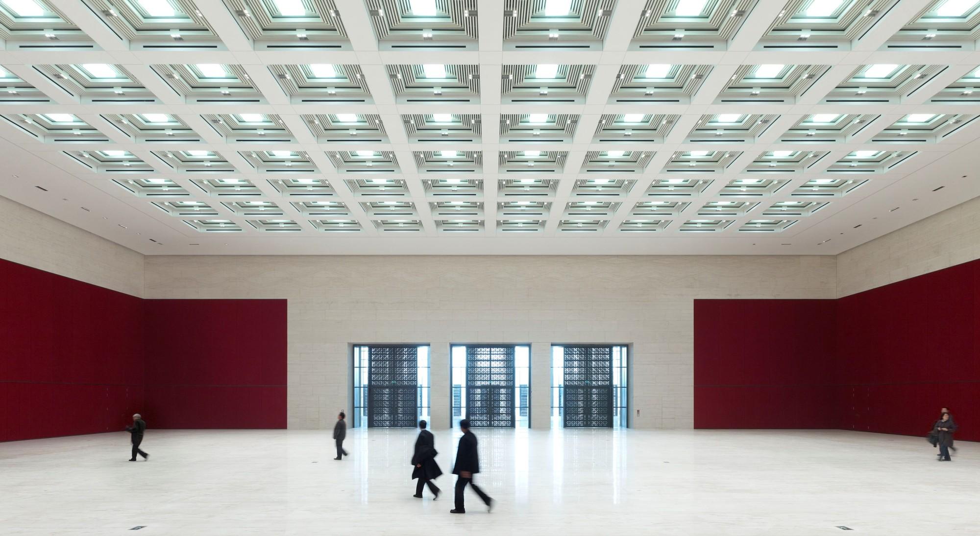 Proyecto de Iluminación: Museo Nacional de China por Conceptolich Lighting Design, © Christian Gahl