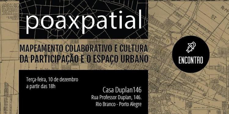"""Encontro """"Mapeamento Colaborativo e Cultura da Participação e o Espaço Urbano"""", em Porto Alegre"""