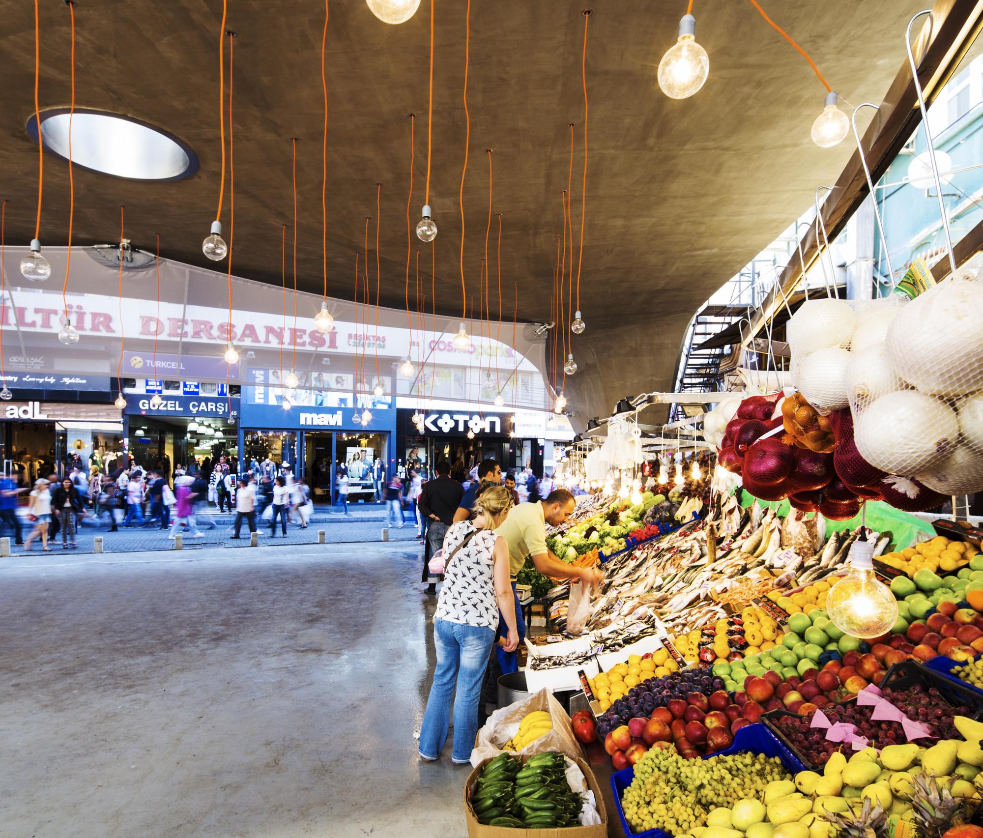 Gallery of besiktas fish market refurbishment gad 11 for Portland oregon fish market