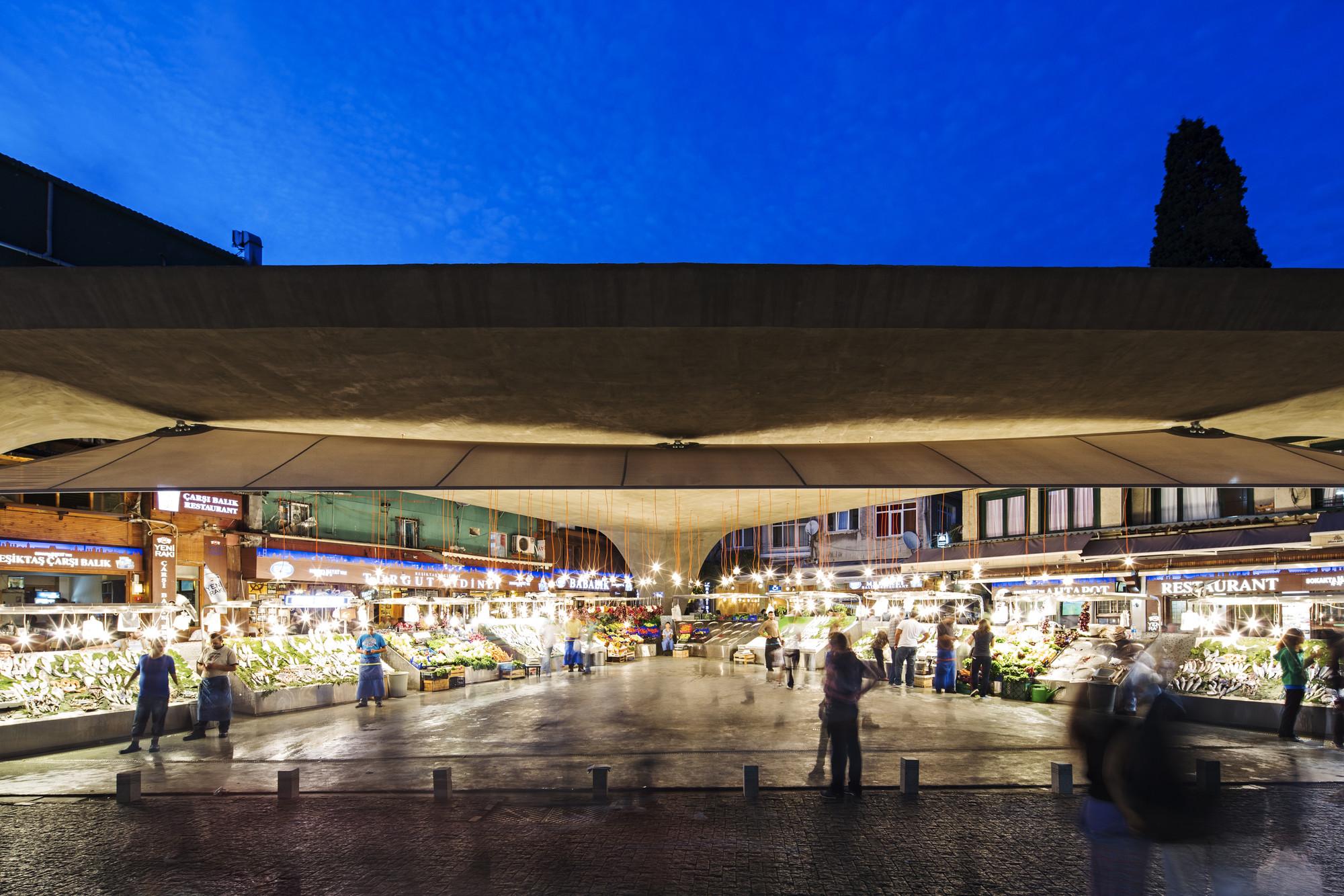 Gallery of besiktas fish market refurbishment gad 29 for Hagen s fish market