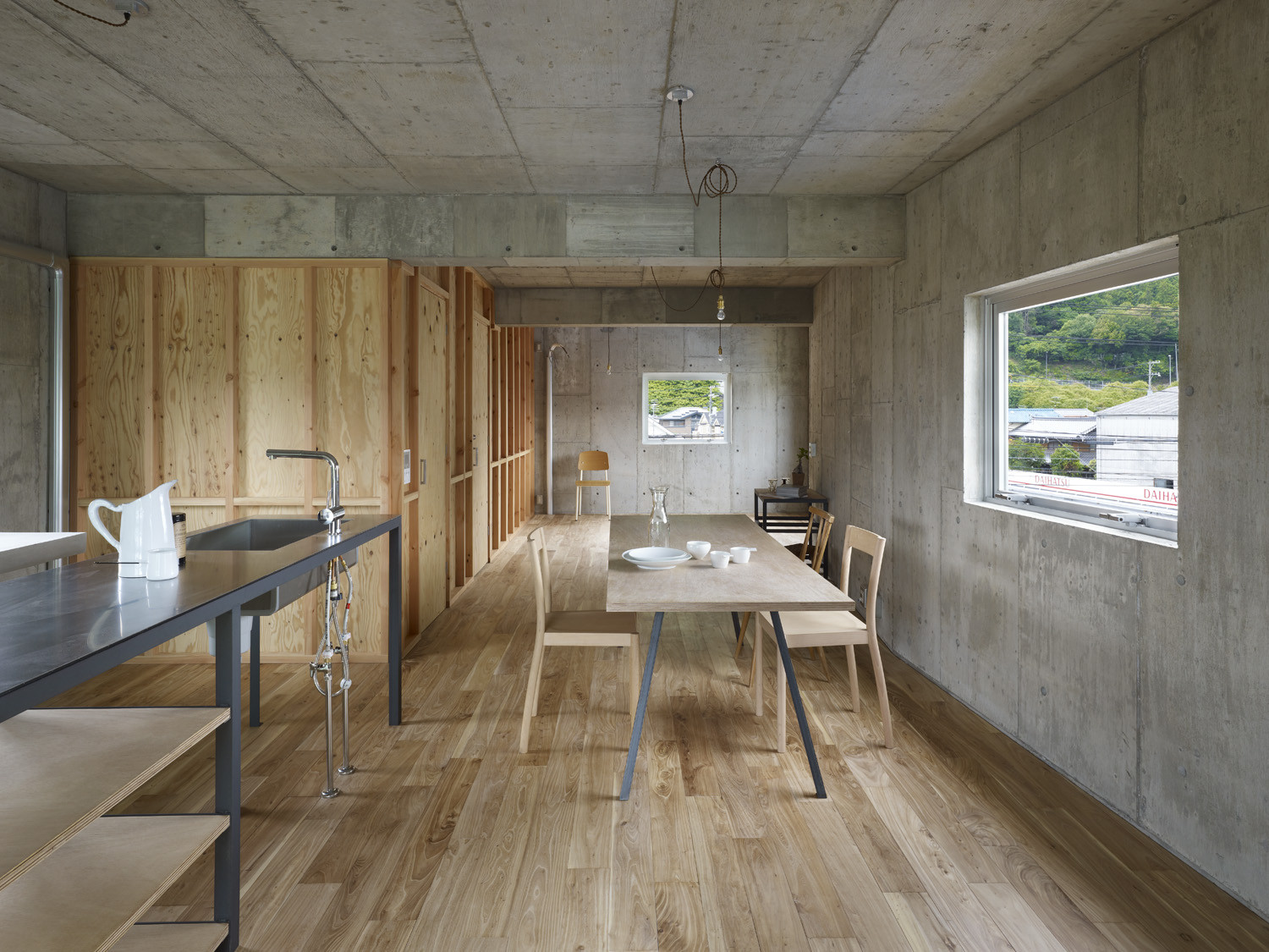 Gallery of the house of yagi suppose design office for Office design japanese