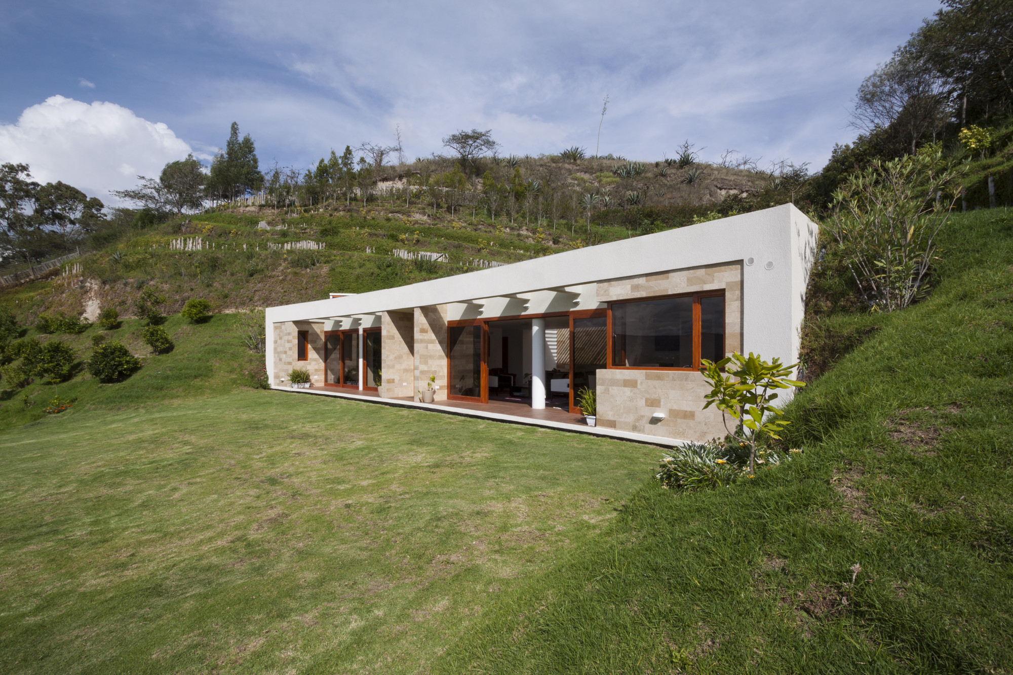 Gallery of house gazebo ar c 2 for Haus rustikal modern