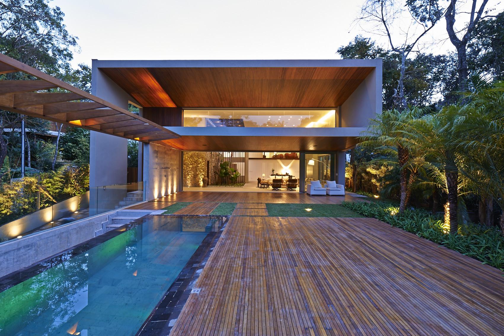 Residencia Bosque da Ribeira / Anastasia Arquitetos