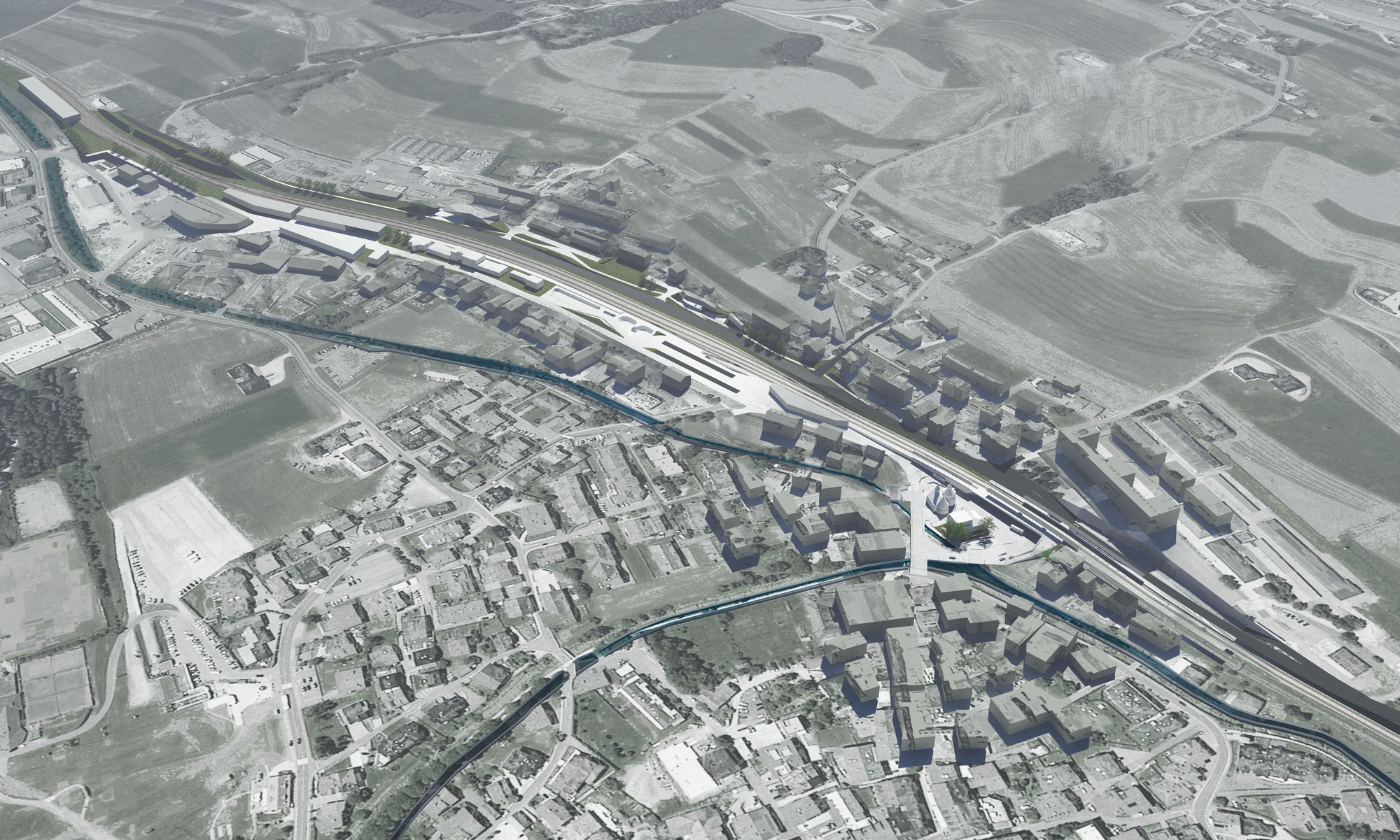 PLASMA Studio Wins Competition to Relocate and Enhance Italian Railway Station