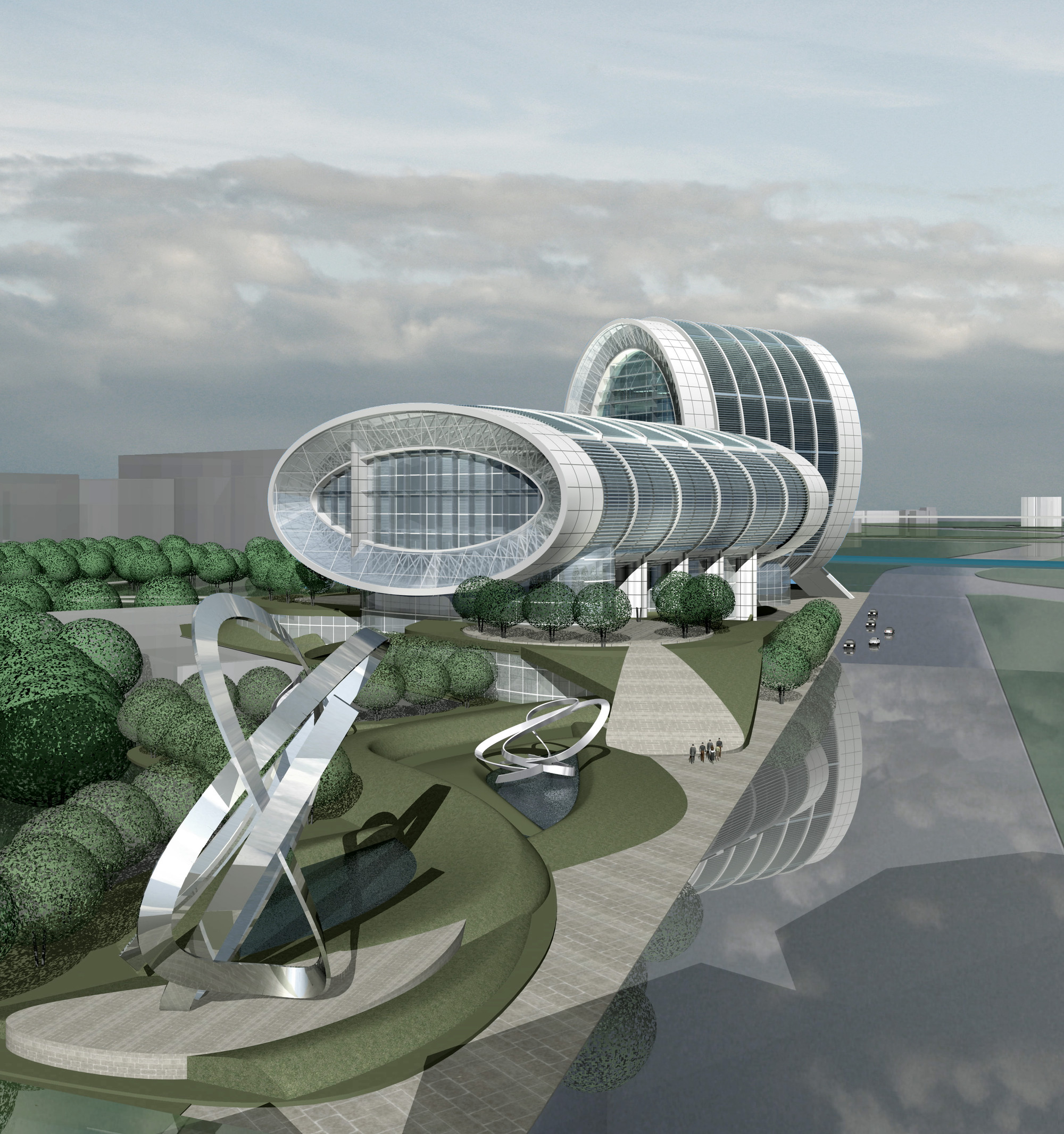 Form4 Architecture Wins WAN Civic Buildings Future Schemes Award for Cultural Center in Taiwan