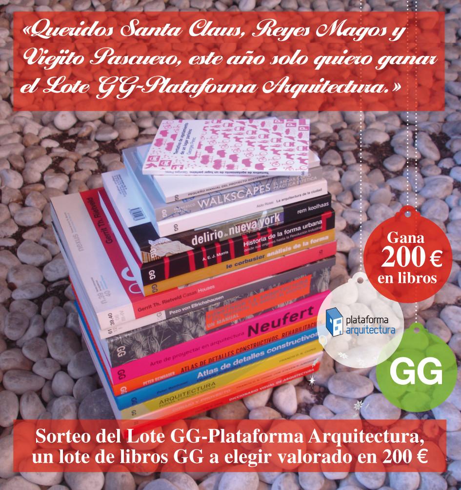 Sorteo Navideño: ¿Quieres ganar el Lote GG-Plataforma Arquitectura?