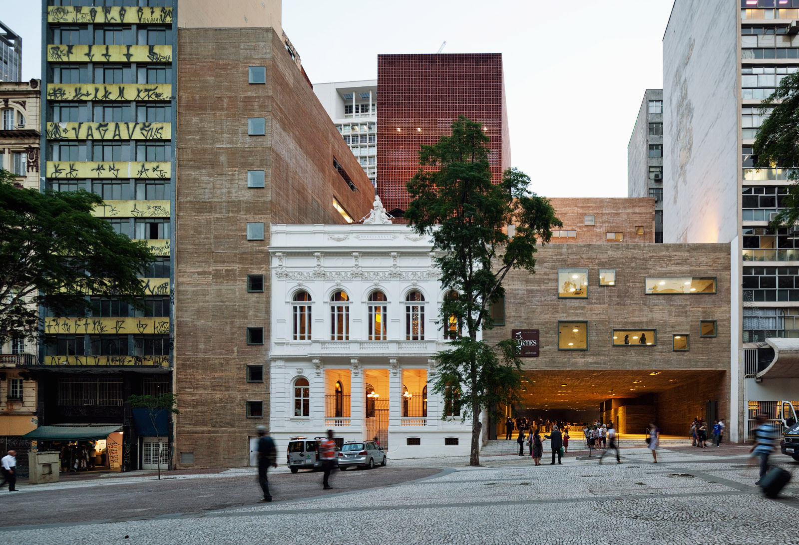 Praça das Artes wins Building of the Year at Icon Awards, © Nelson Kon